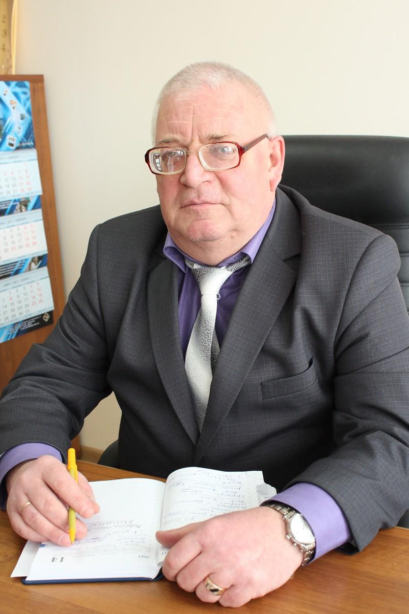 Председатель профкома Попов Александр Иванович