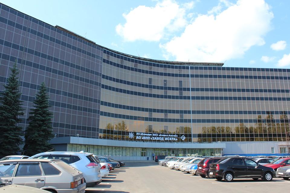 Здание завода АО «НПП «Завод Искра»