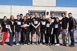 Молодежь ОАО «НПП «Завод Искра» приняла участие в 36-ой районной легкоатлетической эстафете.