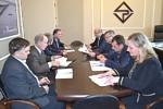 На ульяновском заводе «Искра» состоялась встреча нового ректора Ульяновского государственного технического университета Александра Пинкова с руководством предприятия.
