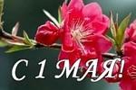 1 Мая — День весны и труда.
