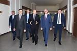 В АО «НПП «Завод Искра» прошла встреча руководства Ульяновского региона и предприятия.