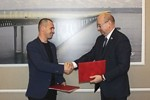 10 апреля в рамках развития Всероссийского военно-патриотического общественного движения «Юнармия» состоялось подписание соглашения о взаимодействии и сотрудничестве АО «НПП «Завод Искра» и РО ВВПОД «Юнармия» Ульяновской области.